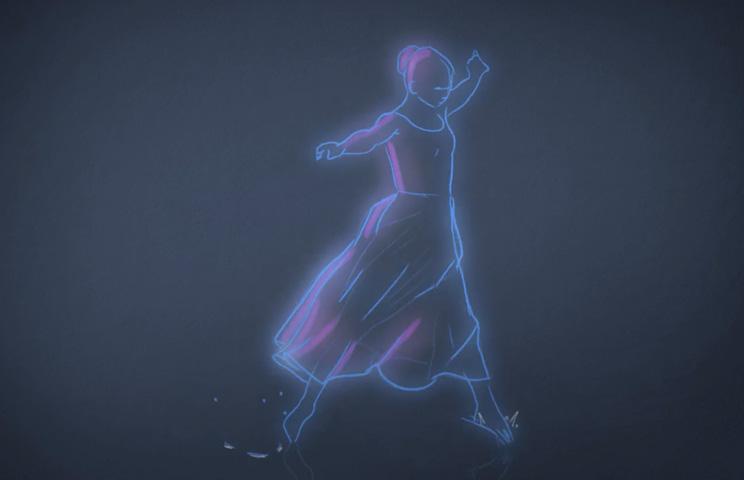 Bailarina de água